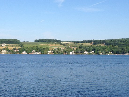 Top of the Lake: View across Keuka lake