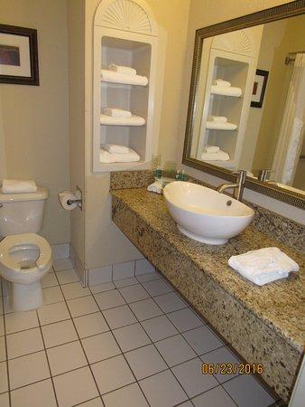 Holiday Inn Express Fort Smith: Bathroom