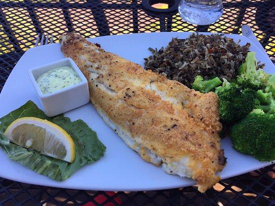 Grand Marais, MN: Walleye Dinner