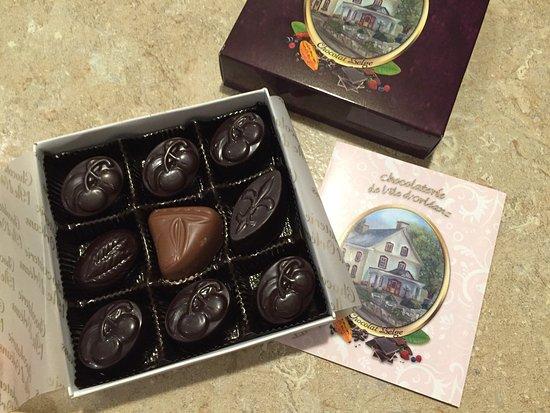 Sainte-Petronille, Canada: Chocolaterie de l'Ile d'Orleans