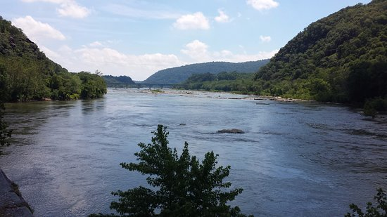Harpers Ferry, WV: The Shenandoah River