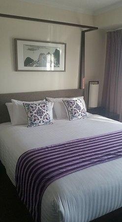 Como, Australië: The bed.