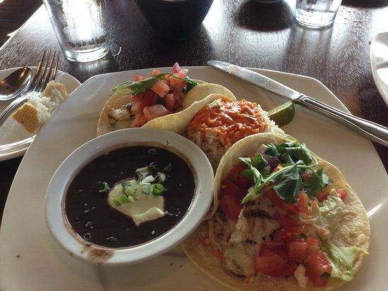 Depoe Bay, OR: mahi mahi fish tacos