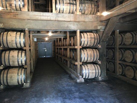 Greeneville, TN: Jack Daniel's Distillery Barrels