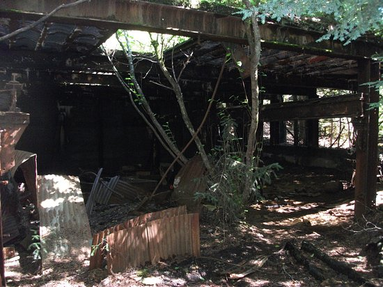 Douglas, อลาสกา: A long-forgotten mine district building
