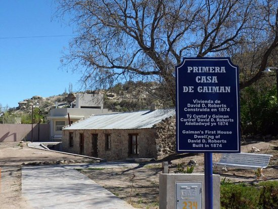 Primitiva casa en Gaiman, Pcia del Chubut