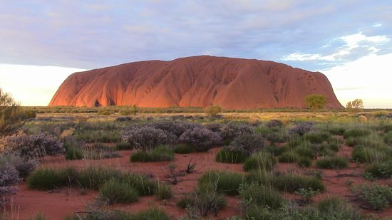 Yulara, Australia: Uluru at sunset