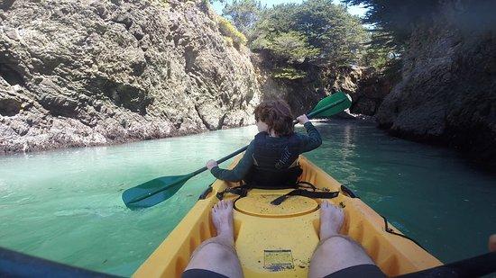 Kayak Mendocino: beautiful...