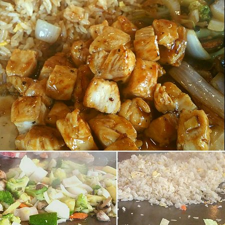 Ocean Springs, MS : Current Hibachi Lunch Special only $7.95.  You have a choice of chicken, steak, or shrimp, fried