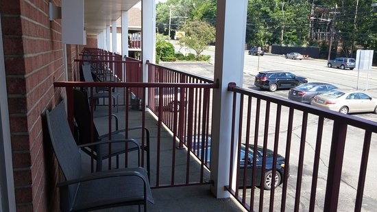 BEST WESTERN Turtle Brook Inn: Room balcony