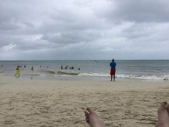 South Shore Zipline: Beach