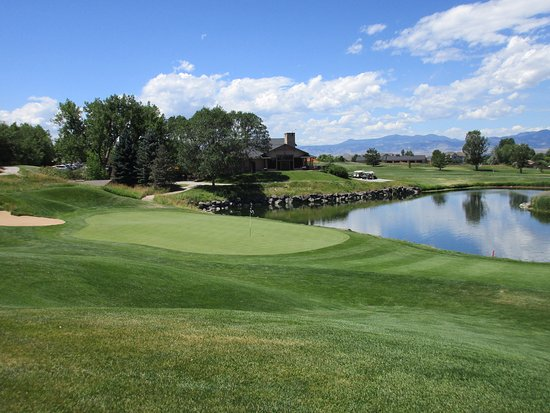 Westminster, CO: 9th green. A beauty.