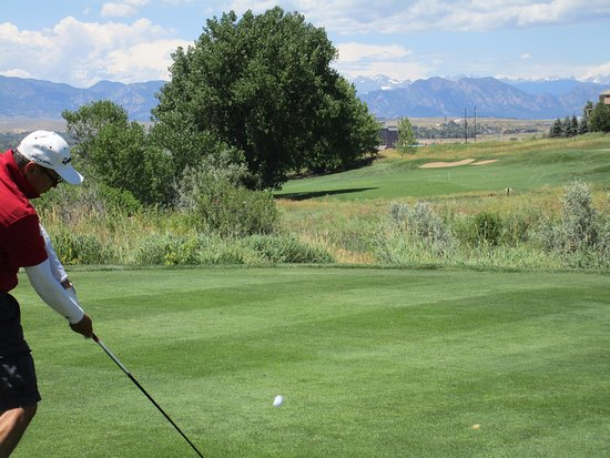 Westminster, CO: Short, tight dogleg left on back nine.