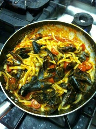 Bergeggi, Italy: Scialatilli ai frutti di mare