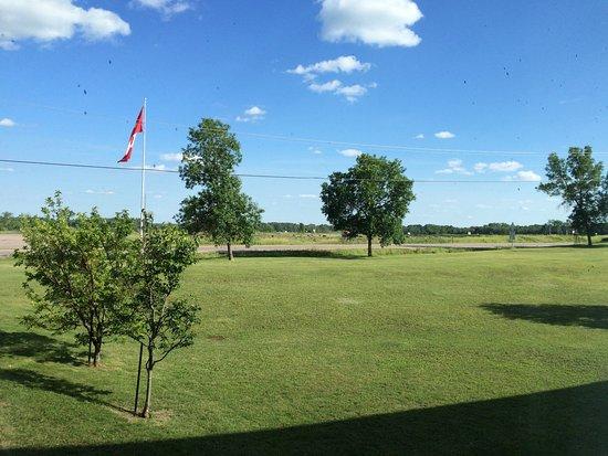 Pembroke, Kanada: View from window of Paul Martin Road