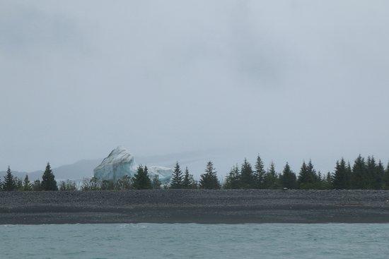 Iceberg in front of Bear Glacier