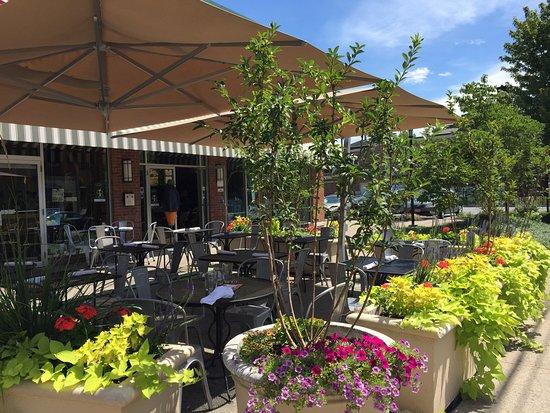 Rhinebeck, Nova York: outdoor dining