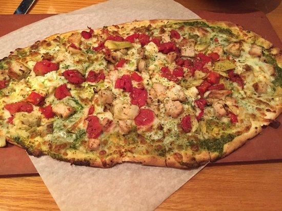 ปิเนลลัสพาร์ค, ฟลอริด้า: Garlic Chicken Tavern Cut Pizza