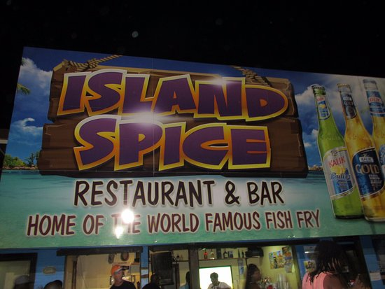 Island Spice Restaurant & Bar: Island Spice Restaurant (Nassau, Bahamas) Outside Front View