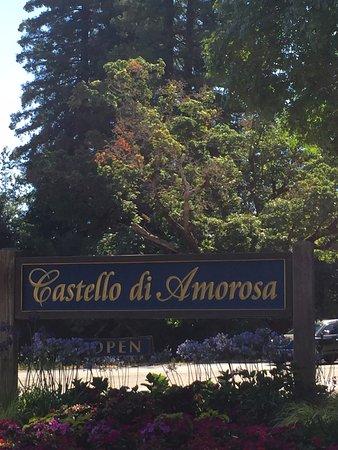 Calistoga, CA: Front entrance