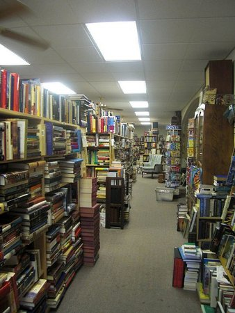 Stroudsburg, PA: A photo I took a few years ago. The only thing that's changed is how many books there are!