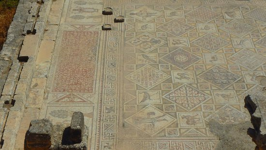 Jerash, Jordan: mosaic floor