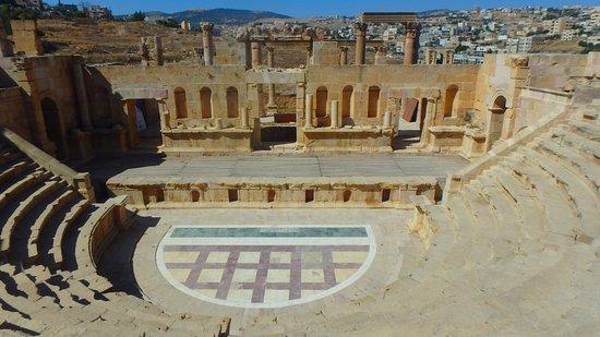 Jerash, Jordan: smaller colosseum