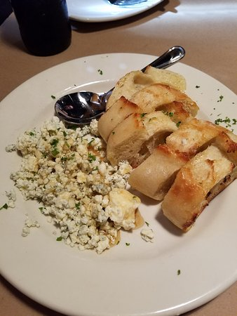 Taste: Small Plate: Bleu Cheese and Honey (bleu cheese crumbles & honeycomb, with artisan bread)...