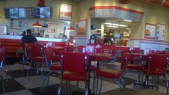 Temple, Teksas: Dining area
