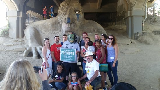 The Fremont Tour: The Fremont Troll