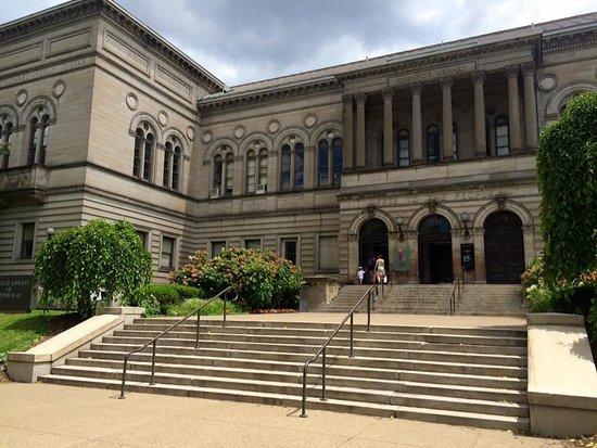 Schenley Park: U of Pitt library