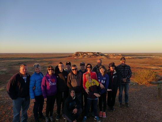Coober Pedy, أستراليا: Our travel group