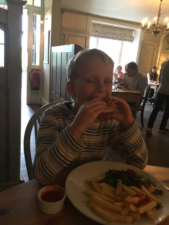 Painswick, UK: Even my picky eater loved his meal