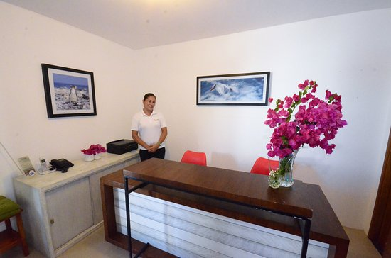 La Casita de la Playa: Front Desk
