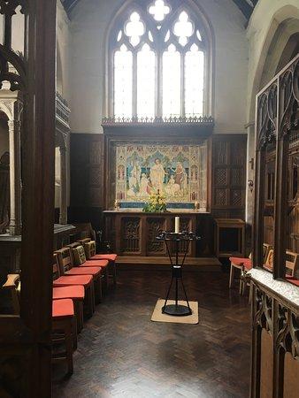 Painswick, UK: Church interior