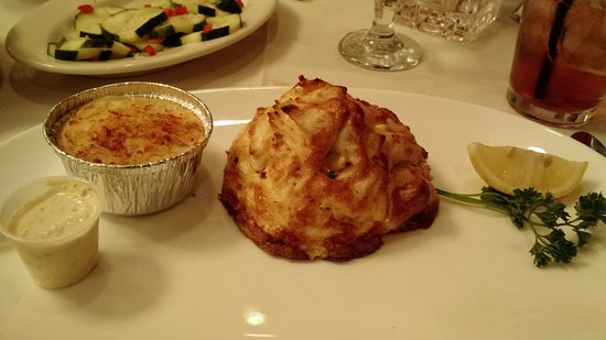 Cockeysville, MD: 10 oz crab cake with jackknife potato