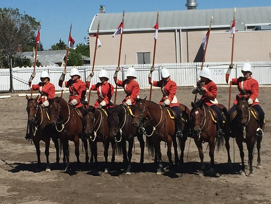 Fort Macleod, Canadá: The Musical Ride