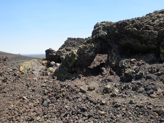 Arco, Айдахо: Cool volcanic rock formations.