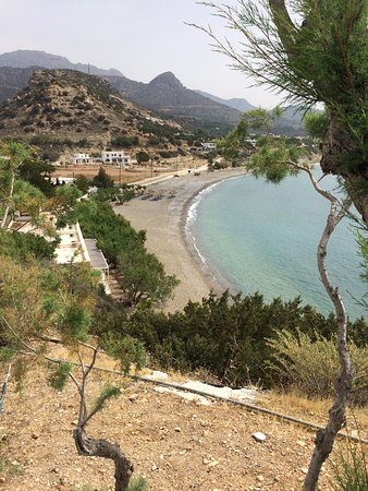 Ferma, Yunanistan: Our beach