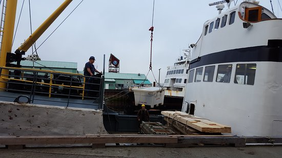 Lady Rose Marine Services: Each party loaded up a large, white container & they were stowed during the trip. Great system.