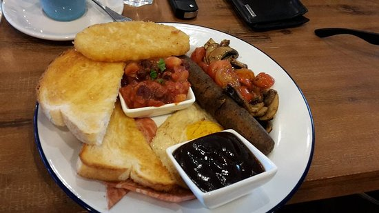 ‪‪Greater Newcastle‬, أستراليا: 100% Vegan British Fry-up‬
