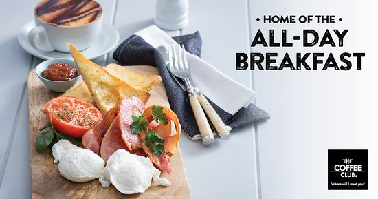The Coffee Club : All day breakfasts