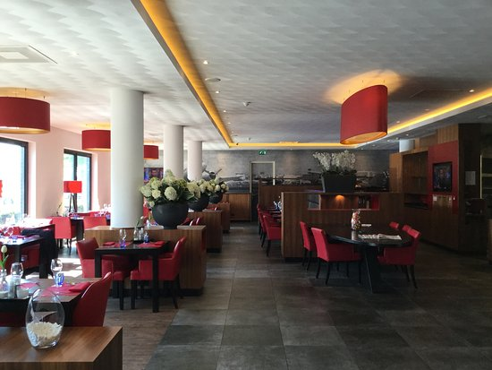 Hoofddorp, The Netherlands:  Bastion Hotel Lobby.