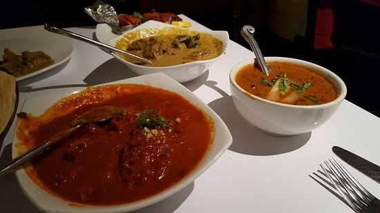 Chefs of Tandoori: Butter chicken, Beef Korma, and Dhall Makhani