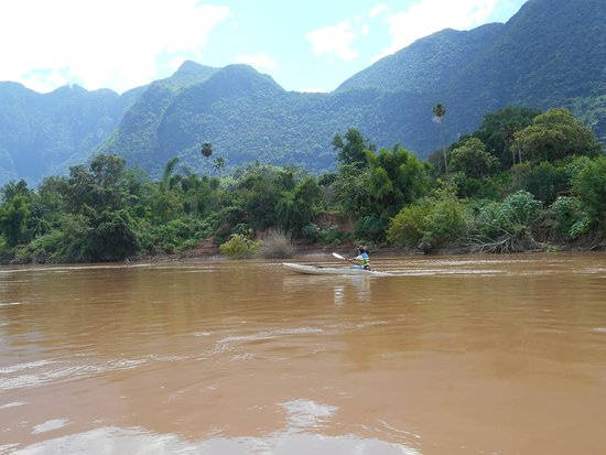 Nong Khiaw, Laos: enjoy the surroundings