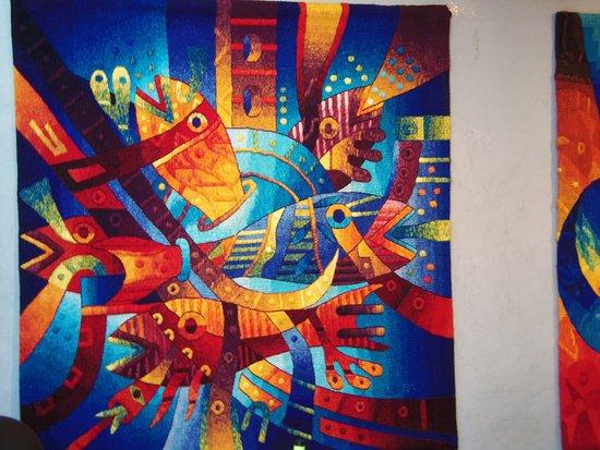 Galería Aymara: Los tapices son espectaculares
