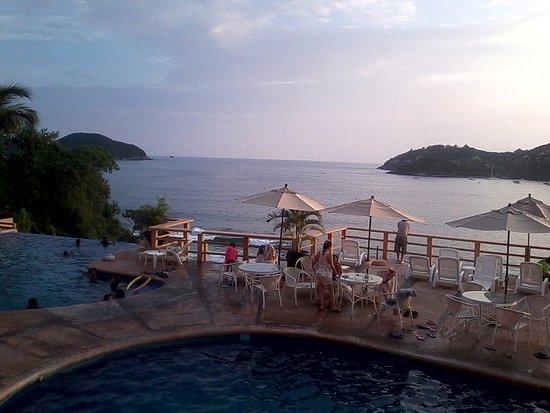 Hotel Irma: desde el restaurante
