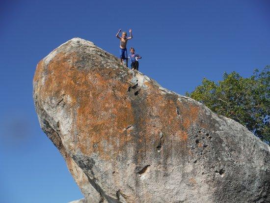 Cape Maclear, Malawi: Rock Jumping