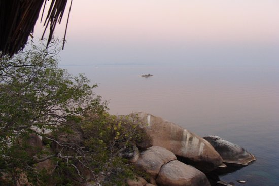 Cape Maclear, Malawi : View from chalet