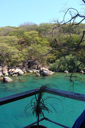 Cape Maclear, Malawi: View from chalet